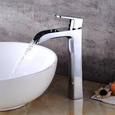 bathroom faucets lavatory signature hardware fair waterfall sink