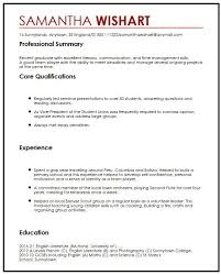How To Write A Resume Without Job Experience by Cv Sample With No Job Experience Myperfectcv