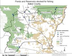 State Map Of Oregon by Odfw Trout Stocking Schedule