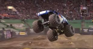 monster truck video for video monster truck lands first ever front flip