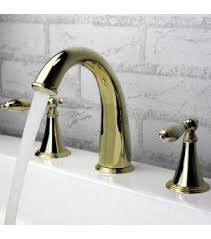 Polished Brass Bathroom Faucets Widespread Polished Brass Widespread Bathroom Faucet 6051 Wholesale Faucet E