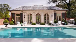 Cool Houses With Pools The Pool House Was Built As A Self Contained Entertaining Space