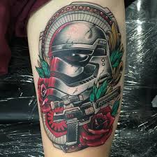 first order stormtrooper by nathan at holdfast tattoo in perth