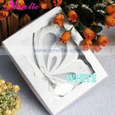 diy scroll invitations 50pcs lot white color unique wedding card invitation diy butterfly