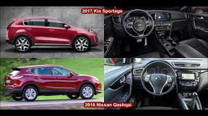 nissan qashqai youtube 2016 2017 kia sportage vs 2016 nissan qashqai design youtube