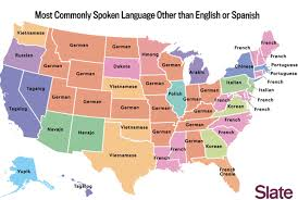 Blank Map Of Spanish Speaking Countries by The Most Commonly Spoken Language In Each State Besides English