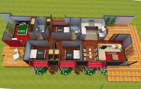 shearbox 640 container homes floor plans
