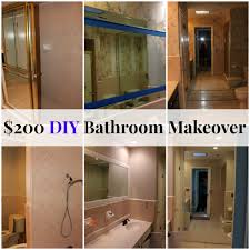 ideas for a bathroom makeover renovation adventures 200 bathroom makeover the happy