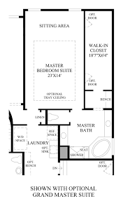 Master Bedroom Suites Floor Plans The Hills At Parker The Aspen Home Design
