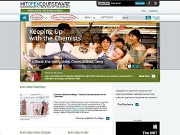 online class high school for students mit opencourseware free online course materials