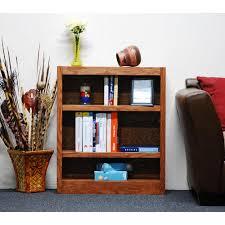 Sauder Oak Bookcase by Sauder Dakota Pass Craftsman Oak Open Bookcase 418546 The Home Depot