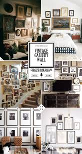 How To Design A Gallery Wall by Design Tips On How To Create A Vintage Gallery Wall Home Tree Atlas