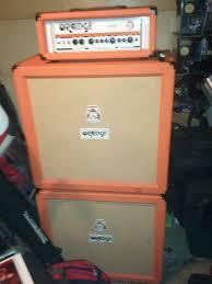 Orange Cabinet 4x12 Orange Amplifiers Crush Pro Cr120h 120w Guitar Amp Head Black