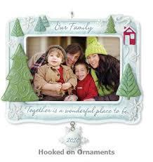 2010 our family photo holder ornament halllmark keepsake ornament