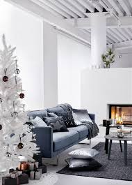 White Christmas Room Decorations by Christmas Trees As Part Of The Christmas Decor