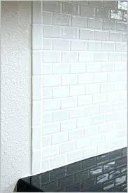 Glass Tile Installation Tile Edge Trim Tile Edging Shower Tile Edging Trim A Modern Looks