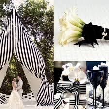 black and white wedding decor captivating black and white wedding
