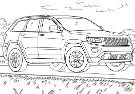 safari jeep png jeep grand cherokee coloring page free printable coloring pages