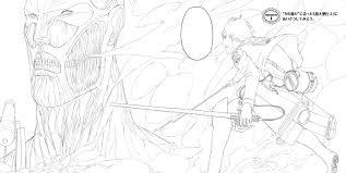 free printable attack on titan anime manga coloring books for kids