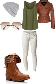 polyvore inspired guide to dressing casually for fall and winter