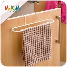 kitchen cabinet sponge holder iron towel rack kitchen cupboard hanging wash cloth organizer sponge