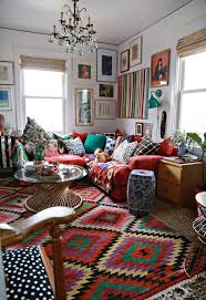 interior home decoration lovely bohemian living room decor with home decoration for
