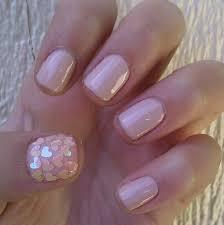 jordana nail polish in sequins and pink hearts the thumb