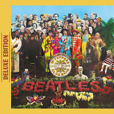 sargeant peppers album cover sgt pepper s lonely hearts club band deluxe edition by the