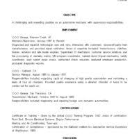 Automotive Technician Resume Examples by Auto Mechanic Resume Job Description Automotive Technician And