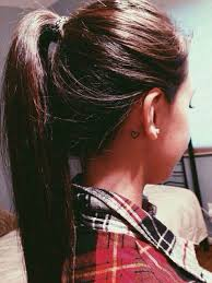 Pictures Of Tattoos On The - best 25 ear tattoos ideas on moon tatto moon