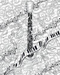 large guitar coloring page guitar coloring page electric guitar bass guitar coloring pages