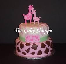 baby shower giraffe cake cakes by the cake shoppe pinterest