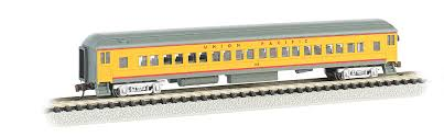 Coach Interior For Cars Union Pacific 72 U0027 Heavyweight Coach With Lighted Interior