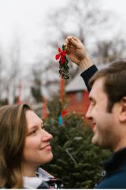 christmas tree farm engagement caitlin justin victoria