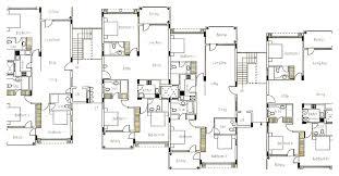 100 dual family house plans triplex house plans multi