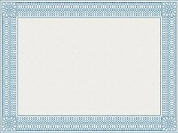 certificate border templates free printable borders award and