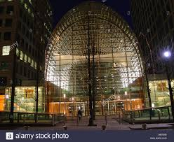 east wintergarden canary wharf on bank street london high arched