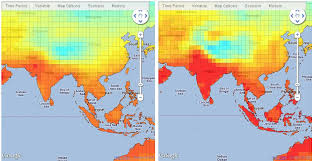 what is a climate map climate data