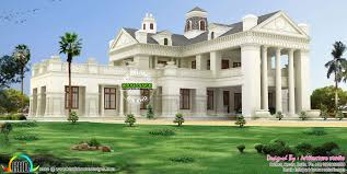 luxury colonial house plans colonial style house plans kerala 9670