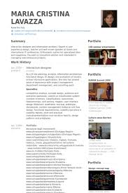 Interactive Resume Examples by Interaction Designer Resume Samples Visualcv Resume Samples Database