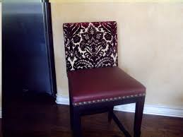 reupholstering dining room chairs with piping reupholstering