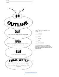 Argumentative Writing Worksheets Format Essay Outline Resume Cv Cover Letter