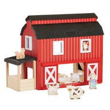 Mobile Play Barn Melissa U0026 Doug Fold And Go Barn Play Set Free Shipping On Orders