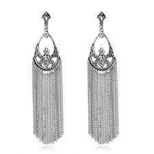 style of earrings 2017 gold earring designs fashion style tassels drop