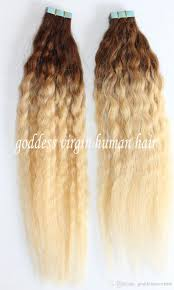 Two Tone Ombre Hair Extensions by Two Tone Ombre Brazilian Hair Skin Weft Hair Extension Human