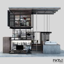 Modern Home Designs by Compact Modern House Made From Affordable Materials