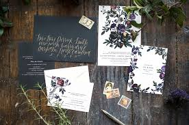 flora suite u2014 hello tenfold wedding invitations