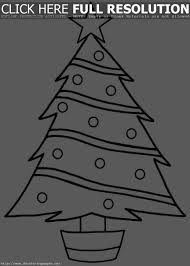 printable christmas tree coloring pages u2013 happy holidays