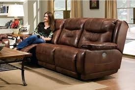 leather sectional sofa with recliner sofa power recliner crescent power reclining leather sofa crescent