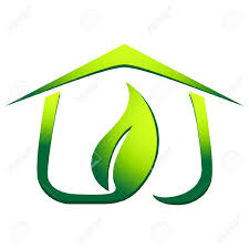 green eco house royalty free cliparts vectors and stock
